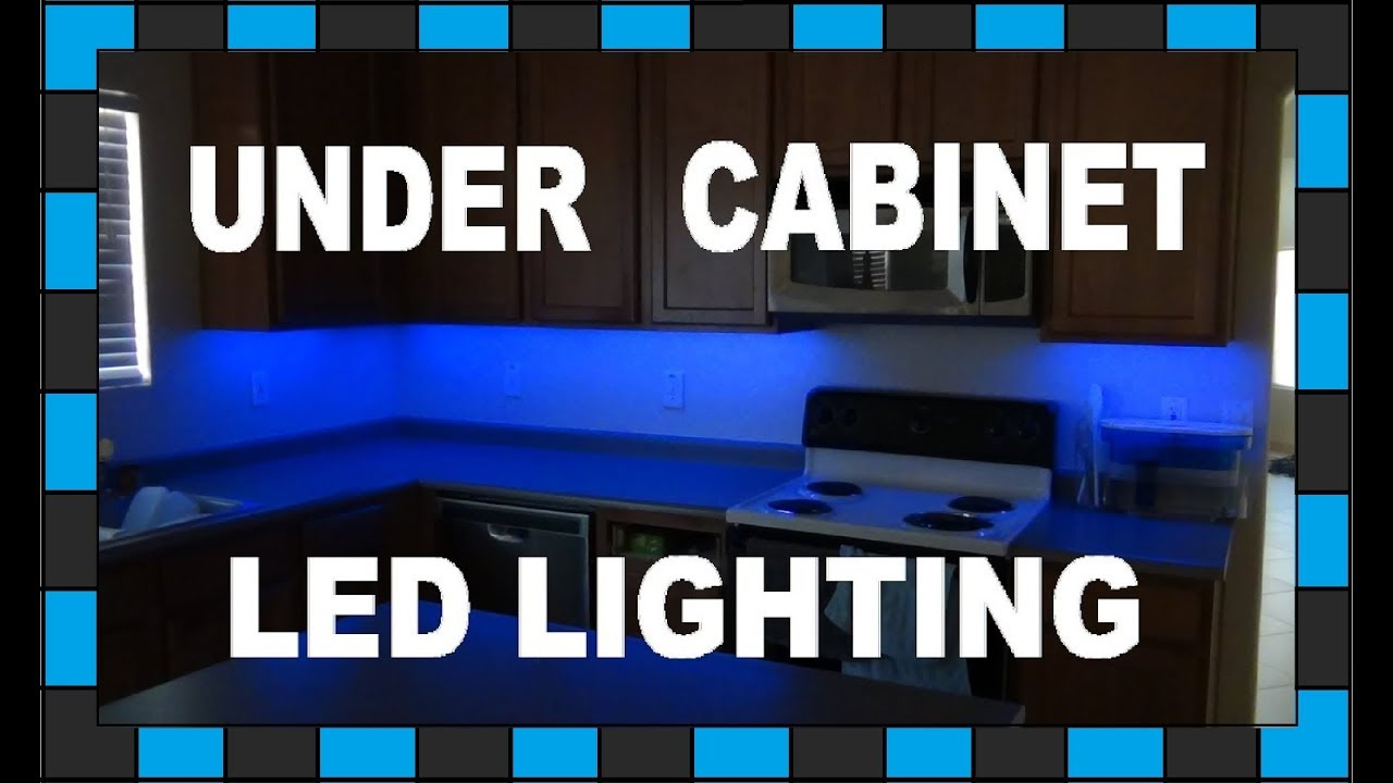install under cabinet led lighting. How To Install Under Cabinet LED Lighting!!! // $30 Led Lighting