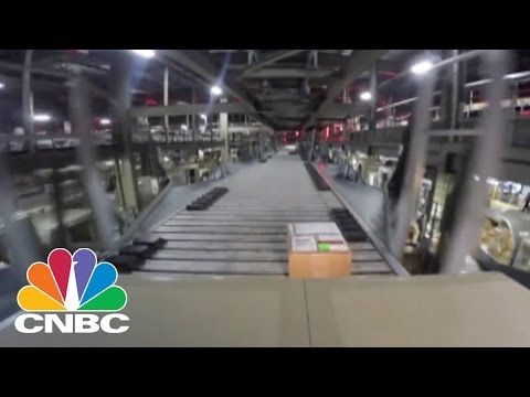 Inside the UPS Shipping Facility: 1.6 million Packages Daily | CNBC