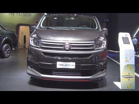Fiat Talento Shuttle 1.6 120 Hp Turbo (2019) Exterior And Interior