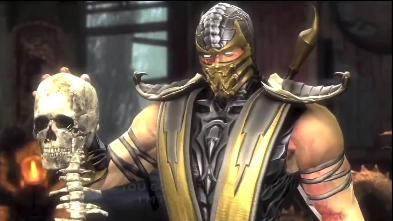 Scorpion vs Ghost Rider THE RAP BATTLE - YouTube