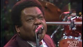 R I P Fats Domino   Here singing Blueberry Hill