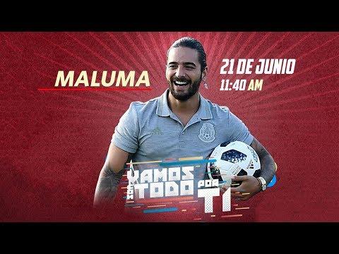 Maluma En Vivo Desde Rusia | #VamosConTodo | Televisa Deportes