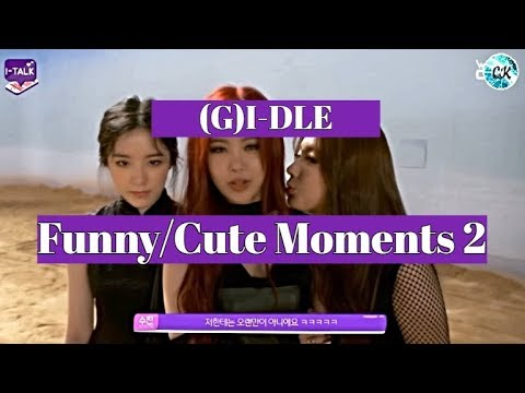 (G)I-DLE (여자)아이들 - Funny & Cute Moments (Part 2)