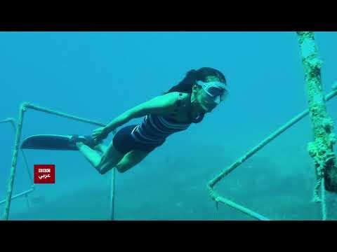 بتوقيت مصر : فتاة مصرية تحول خوفها من السباحة إلى أرقام قياسية في الغوص الحر.  - 15:53-2018 / 12 / 1