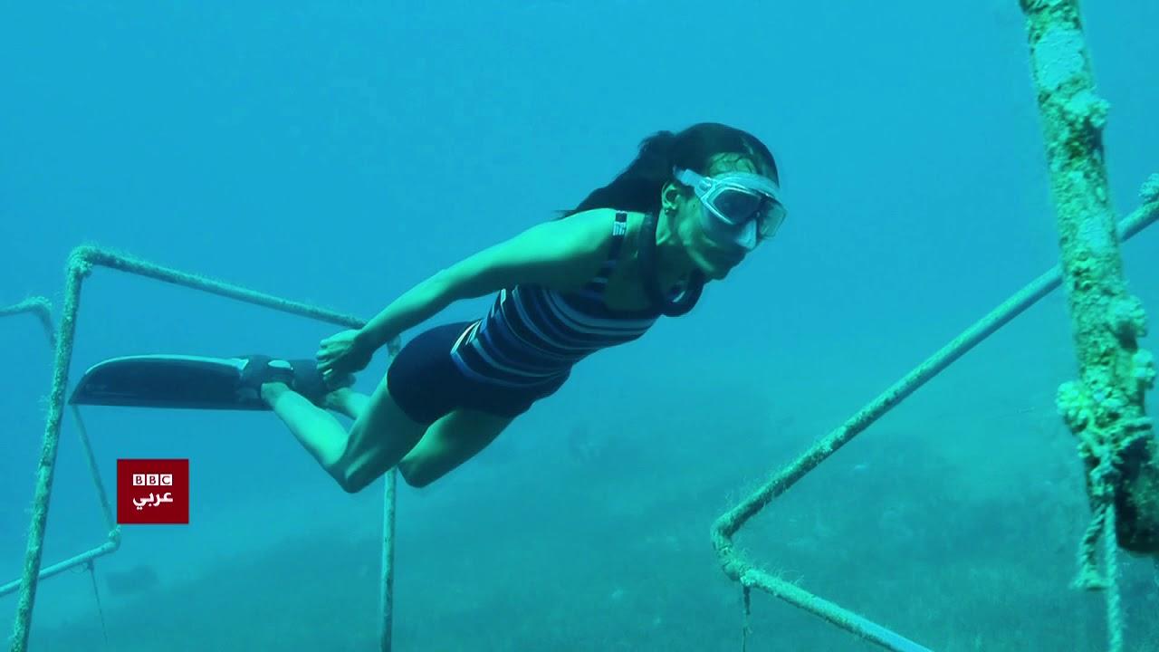بتوقيت مصر : فتاة مصرية تحول خوفها من السباحة إلى أرقام قياسية في الغوص الحر.