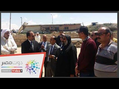 دوت مصر | نائب محافظ الإسكندرية يتفقد منطقة 'أبومينا الأثرية'