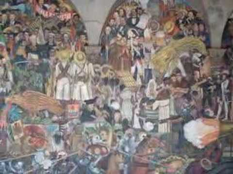 Diego rivera mural history of mexico safeshare tv for Mural history