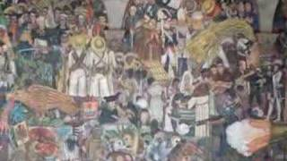 Diego Rivera Mural - History of Mexico