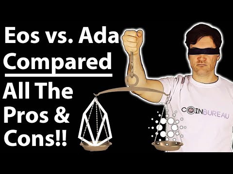EOS Vs. Cardano: Complete Crypto Comparison