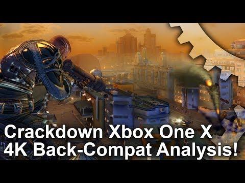 [4K] Crackdown: Xbox One X Back-Compat vs Xbox 360 Graphics Comparison + Frame-Rate Test!