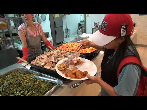 $4.50 Buffet in Seoul City (1080p 60fps) : Real Korea LIVE [EXBC]