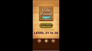 Line Puzzle: String Art Spruce Level 21 to 30 Walkthrough | LinePuzzle: String Art Spruce Levels