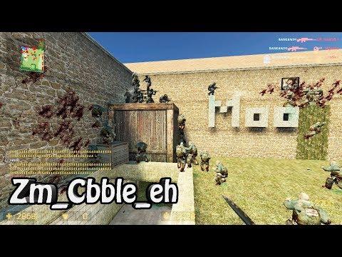 Counter-Strike Source Zombie Mod Gameplay On Zm Cbble Map On ElitE HunterZ Server