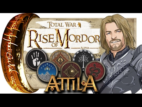 Властелин колец Rise Of Mordor (Total War: Attila Mod Preview)