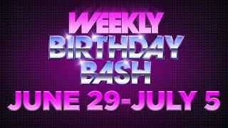 Celebrity Actor Birthdays - June 29-July 5, 2014 HD