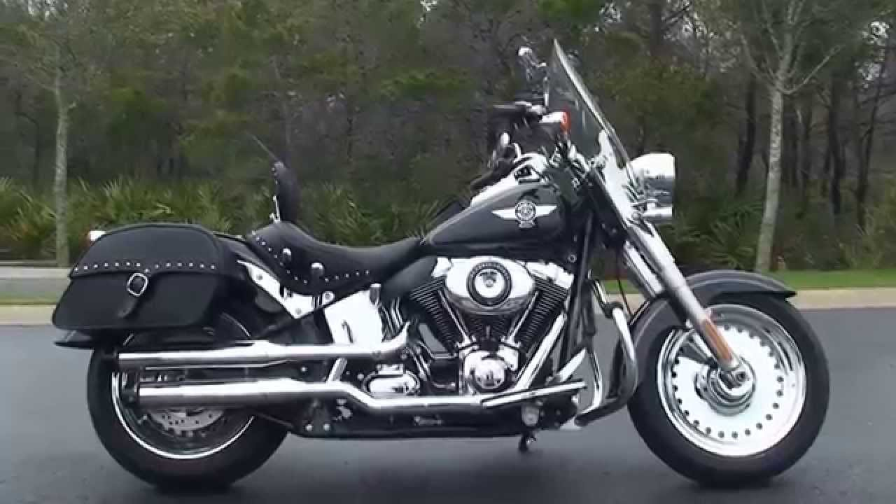 Panama City Harley Davidson >> Used 2012 Harley Davidson FatBoy Motorcycles for sale in Pensacola FL - YouTube