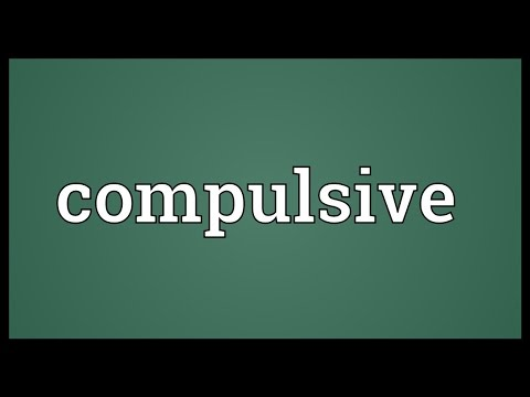 Compulsive Meaning