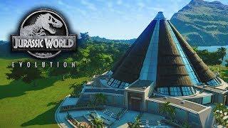 ВИДИШЬ ДИНОЗАВРА? А он тебя видит! - Jurassic World Evolution