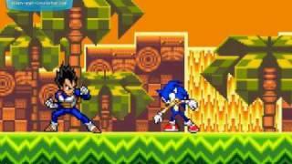 Goku vs Sonic Part 1