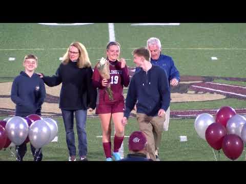 Arlington High School Girls Soccer Vs Reading Memorial - October 25th, 2019