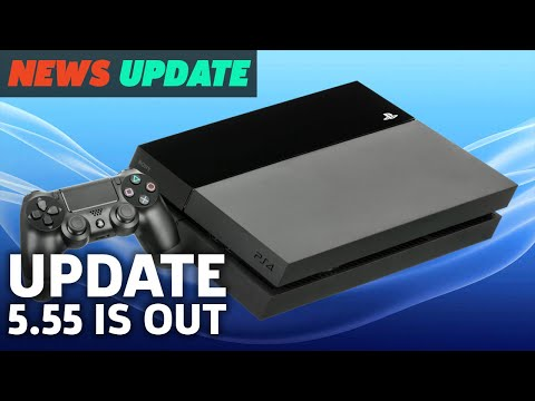 PS4 5.55 Update Is Out Now (And It Doesn't Do Much) - GS News Update
