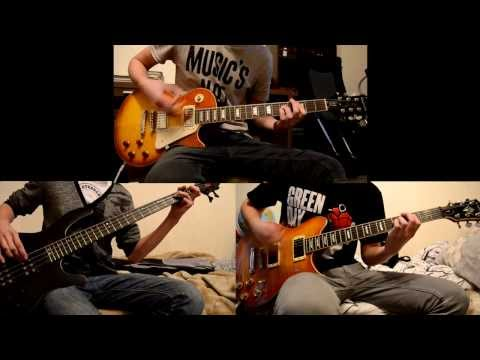 Green Day - 21 Guns Dual Guitar & Bass cover