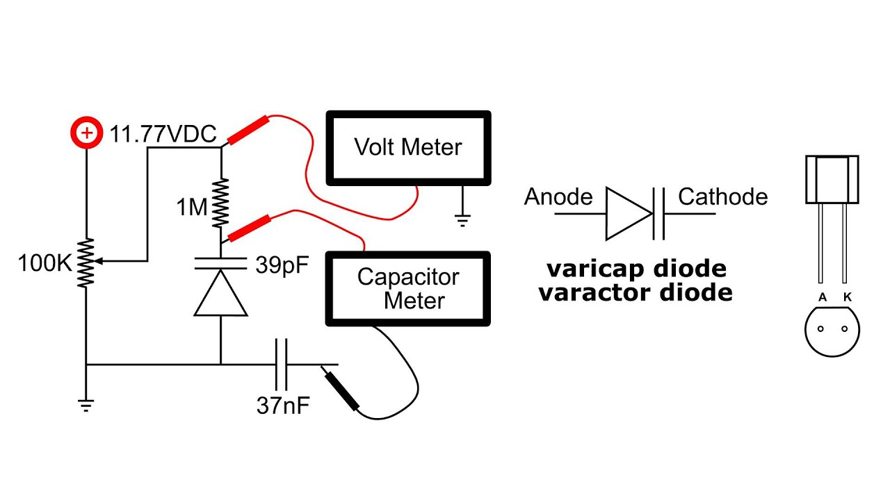 Varactor Diode Circuit Easily Tuned Notch Filter Diagram Tradeoficcom Varicap