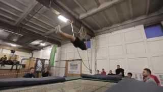 Something better - Best trampoline tricks / Лучшие трюки на батуте Part - 1