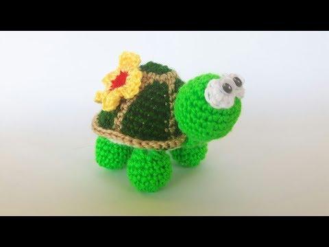 Tutorial Angioletto Amigurumi : Tartaruga uncinetto amigurumi tutorial turtle crochet tortuga