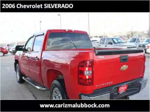 2006 chevrolet silverado used cars lubbock tx youtube for Carizma motors lubbock tx
