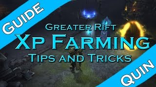 Diablo 3: GR XP Farming Tricks