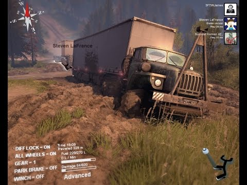 Spintires Episode 2 Live With Steven LaFrance