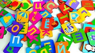 Алфавит Азбука Учим буквы Для детей Развивающие мультики для малышей