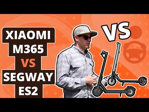 Xiaomi M365 vs Segway ES2: In-Depth Review of Scooters Bird and Lime Use