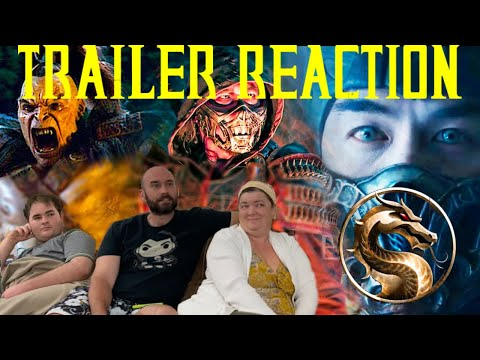 Mortal Kombat Reaction 2021 // Squeamish Wife and Mom Reacts to MK Red Band - Essential Reactions