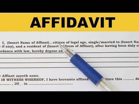 Affidavit of Name Change | format | template | Legalraasta