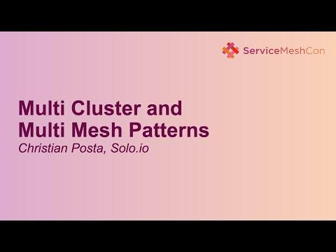 Multi Cluster and Multi Mesh Patterns - Christian Posta, Solo.io