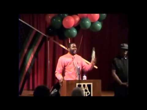 Dr Umar Johnson tribute to Marcus Garvey