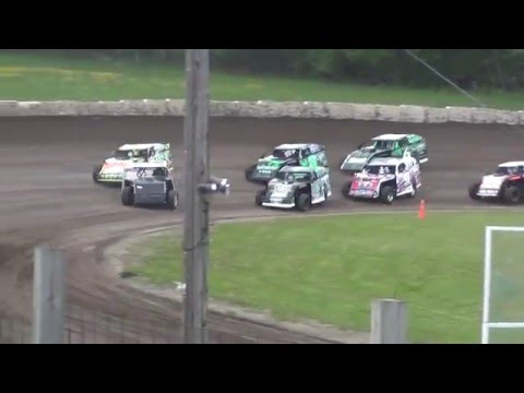 May 22 2015 Chateau Raceway USMTS Jesse Glenz Heat Race win