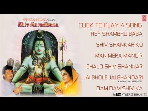 Shiv Aaradhana Top Shiv Bhajans By Anuradha Paudwal I Shiv Aaradhana Vol. 1