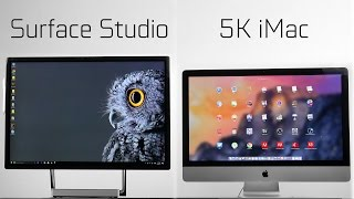 Microsoft Surface Studio vs 5k iMac