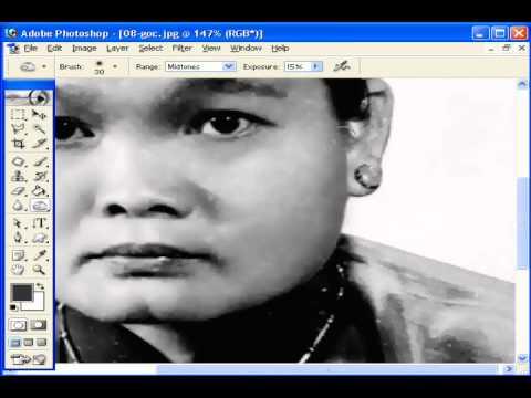 Photoshop CS2 - Phần 5 - Bài 4a - Phục chế ảnh 2