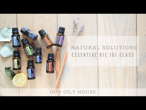 ESSENTIAL OIL 101 CRASH COURSE | ONLINE OIL CLASS