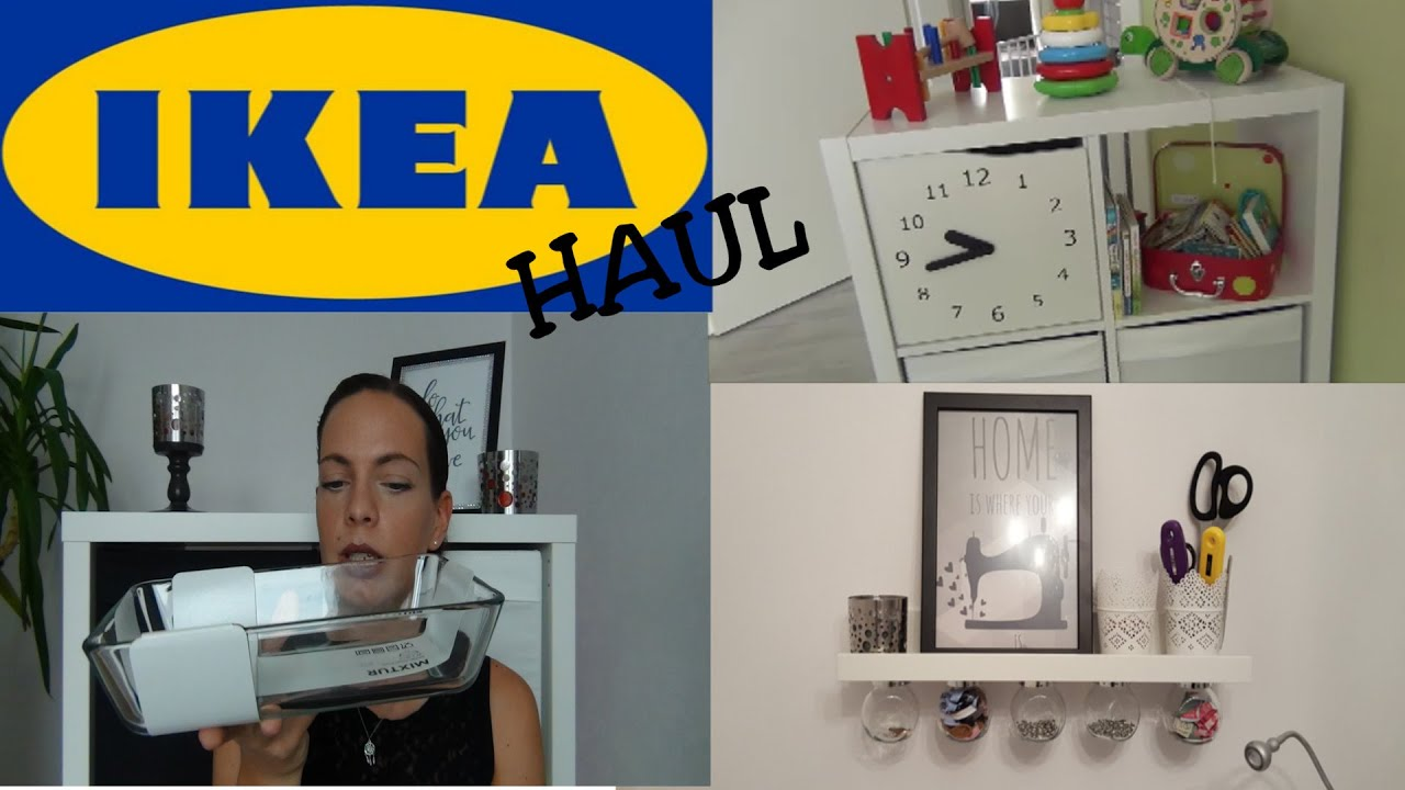 ikea haul ein bisschen f rs n hzimmer kinderzimmer und etwas deko youtube. Black Bedroom Furniture Sets. Home Design Ideas