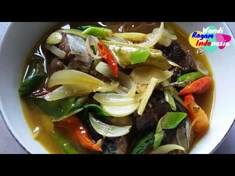 Resep Palumara Ikan Tongkol