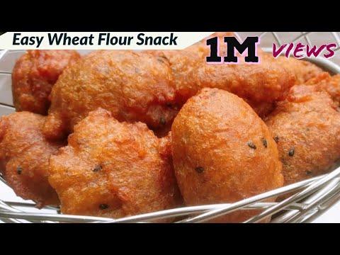 ഗോതമ്പ്-പൊടി-ഉണ്ടോ-കഴിച്ചാലും-മതി-വരാത്ത-ഒരു-സ്നാക്ക്-ഉണ്ടാക്കാം||easy-wheat-flour-snack