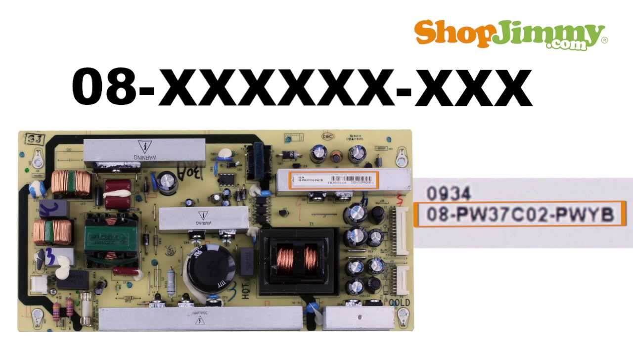 Rca Tv Circuit Board Diagram Schematics Wiring Diagrams Power Amplifier And Supply Schematic Part Number Identification Guide For Unit Psu Rh Youtube Com Panasonic Hookup 1000w