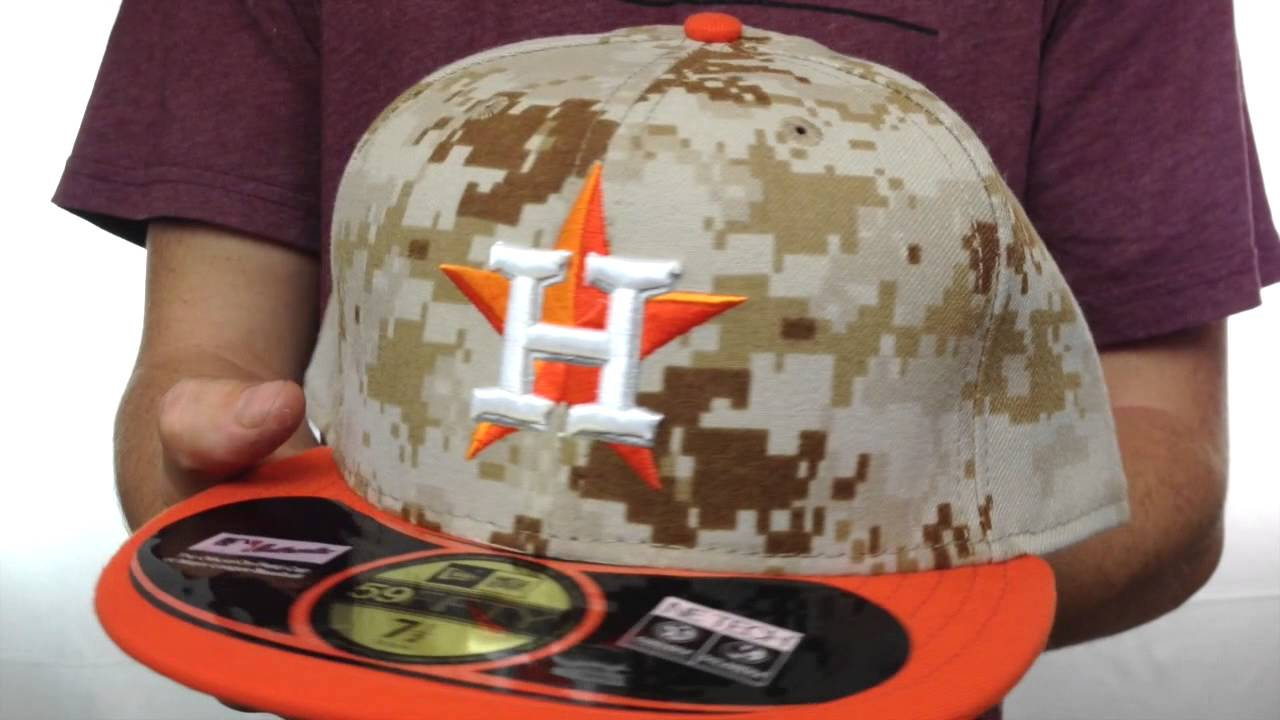 9b31fa8deed Astros  2014 STARS N STRIPES  Fitted Hat by New Era - YouTube