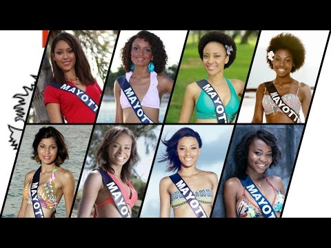 [PALMARES DES REGIONS] Miss Mayotte 2010-2017 👸