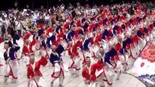 第13回原宿表参道元氣祭、スーパーよさこい2013 明治神宮内で行われた昨...
